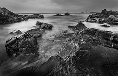IMG_2211.jpg (Tim_Horsfall) Tags: ocean uk blue sunset sea sky blackandwhite beach water monochrome st clouds canon landscape eos bay coast is sand rocks waves dusk jersey usm clements rockpool 6d f4l ef1635mm goldcollection