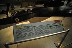 McDonnell Douglas RF-4C Phantom II sign (lee.ekstrom) Tags: world ohio two museum 1 war force air jet first korea vietnam viet national ii planes patterson wright rockets phantom douglas usaf base dayton fuel nam sidewinder mcdonnell rf4c i
