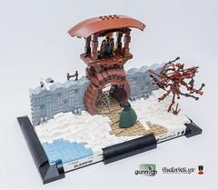 Stroggilofanaro Gatehouse (Gunman (Giorgos Solomonidis)) Tags: castle history lego medieval age diorama gatehouse gunman lurikeen mitgardia