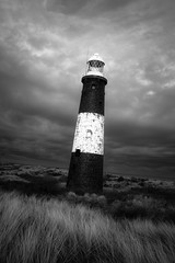 round the twist (I AM JAMIE KING) Tags: light sunset lighthouse grass coast dunes coastal shipping wonky peninsula highlight lean eastyorkshire marramgrass spurnpoint