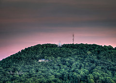 Roanoke Star Color Change For Orlando (Terry Aldhizer) Tags: sunset mountain color mill june clouds star evening virginia orlando twilight support roanoke terry change aldhizer wwwterryaldhizercom