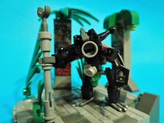 """Hello there!"" (joaqunechavarra) Tags: lego minifig custom vignette minifigure moc npu purist"
