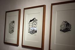 . (.parsprofoto*) Tags: urban berlin art kreuzberg design graphic drawing exhibition opening artshow vernissage ausstellung soloshow vidam peachbeach theweird parsprofoto retramp vidamtheweird