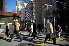 Tokyo trip 2015 #142 () Tags: road street leica ltm city trip people travelling japan publicspace walking tokyo shinjuku asia day path candid voigtlander 28mm stranger    manualfocus  m9 l39  2015 f19  m39 voigtlander28mmf19 leicam9