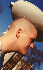06.Sunday.DuPontCircle.WDC.20March1994 (Elvert Barnes) Tags: men project washingtondc faces shaved bald streetphotography heads 1994 dupontcircle baldmen march1994 spring1994 dupontcircleneighborhood dupontcircleneighborhoodwashingtondc dupontcircleneighborhood1994 dupontcircleneighborhoodwdc1994 dupontcircle1994 streetphotography1994 sundaysdupontcircle1994 faces1994 sundaysdupontcirclewashingtondc 20march1994 sundaysdupontcircle sunday20march1994dupontcirclewashingtondc sunday20march1994firstdayofspringwalkwashingtondc