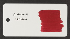 Diamine Crimson - Word Card