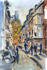 Marais Rue de Sévigné