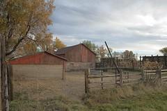Boulder barnyard (Rocky Pix) Tags: county sky mountain clouds barn rockies colorado pix open space rocky boulder handheld greenbelt homestead rockypix normalzoom wmichelkiteley boulderbarnyard f8160thsec24mm 2470mmf28f28gnikkor