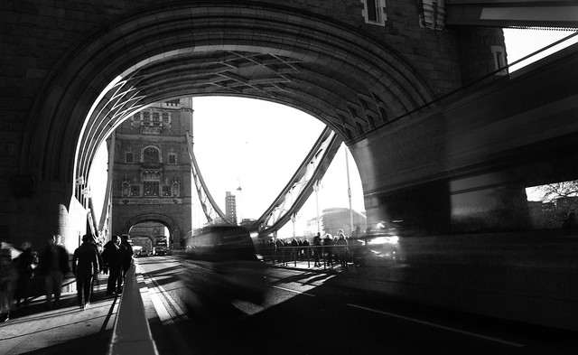 Tower Bridge Traffic Mono