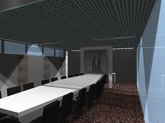 Render Sala Consejos Oficina Barcelona