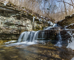 White Trail Falls (Karen&Guy) Tags: kentucky ky falls waterfalls ravenrun fayettecounty ravenrunnaturesanctuary