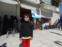 A young boy in Aleppo (Ummah Welfare Trust) Tags: poverty winter children war refugee islam arabic east relief hunger arab middle shaam humanitarian aleppo displaced humanitarianism ummah idlib