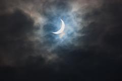 Solar Eclipse - March 2015 (Chris Martin Photography) Tags: sun news canon march solar eclipse space cano astro devon pro press teignmouth giottos 100400 whitelens