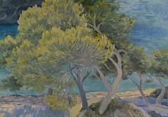 Majorka (Maslova Artist) Tags: shadow sea tree oil majorka