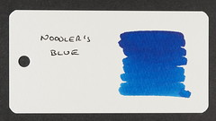 Noodler's Blue - Word Card