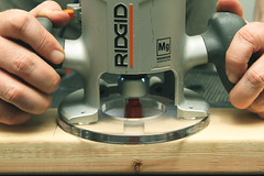 Day 2278 - Day 87 (rhome_music) Tags: building canon photography eos 7d router tool dailyphoto woodworking dayinthelife powertool photojournal ridgid year7 routing canonphotography 365days apicaday 365more 365alumni 2015yip 365days2015 daysin2015 photosin2015 365daysyear7 2015inphotos recreationandprojects