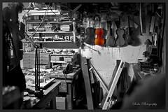 Sur un prlude de Bach / On Bach prelude (Siolas Photography) Tags: bw noiretblanc qubec fujifilm luthier atelier violon xe2 mpdquebec francequbec