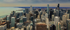 Panoramic Chicago (Arutemu) Tags: city urban panorama usa chicago america canon us illinois midwest downtown cityscape afternoon unitedstates shoreline scenic ciudad panoramic lakemichigan american shore 風景 アメリカ 景色 町 下町 美国 全景 観光 米国 都市 景観 eos6d シカゴ 光景 ミシガン湖 見晴らし イリノイ 都市景観 都市の景観 都市の全景 街並び