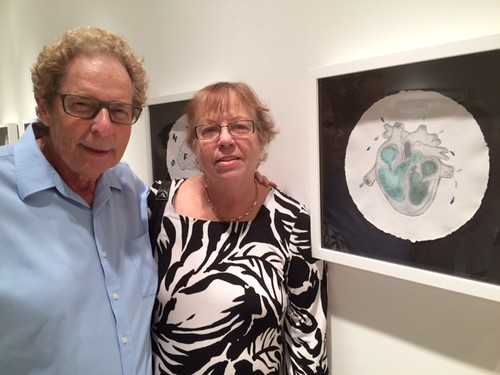 Collectors Mark and Sandi-Jo Gordon at TUB gallery