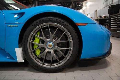 Porsche 918 Spyder Weissach