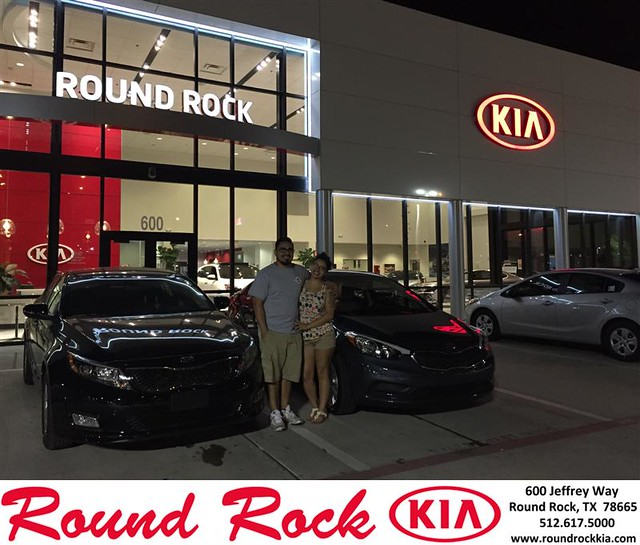 Congratulations to Joe  Gomez on your #Kia #Optima purchase from Jorge Benavides at Round Rock Kia! #NewCar