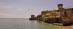 Sirmione / Italy (Erich Hochstöger) Tags: italien italy lake castle water landscape see wasser altstadt landschaft burg sirmione lakegarda gardasee