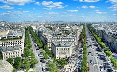 Atop Arc de Triomphe