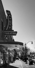 Mainstreet Collingwood (Paul Van Damme) Tags: ontario mainstreet fuji collingwood movietheater x100 theatersigns