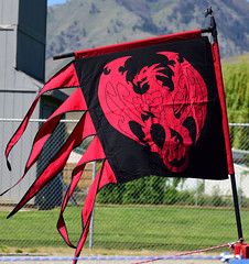Dragon Banner (RichSeattle) Tags: washington nikon dragon flag banner fair crest d750 wenatchee renaissancefair richseattle