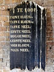 Molen De Valk 2016  List of available ours (Michiel2005) Tags: holland mill netherlands windmill sign leiden nederland falcon bord molen windmolen valk verkoop meel devalk molendevalk