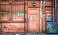 Company B (Dale Brueggemann) Tags: brown graffiti doors bellingham alleys
