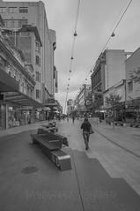 Rundle Mall (Marcus Macksad) Tags: city urban white black monochrome mall nikon cityscape sigma australia adelaide 1020mm southaustralia rundle d90