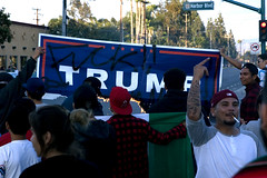 (lopes.alexphoto) Tags: protesting protesters trump trumralley trumpevent anaheim canon 1d mark2 markii digital dslr