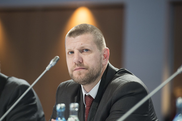 Ismir Jusko at Closed Ministerial Session
