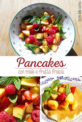pancakes-macedonia (Storie dalla Cucina) Tags: pancakes breakfast macedonia foodporn american miele colazione menta storie stevia foodblog pesche lamponi foodblogger storiedallacucinaealtriracconti storiedallacucina