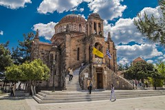 Orthodox church (Vagelis Pikoulas) Tags: green church architecture canon spring europe day may tokina greece orthodox 6d 2016 archaelogical vilia