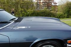 Bonnet: clearcoat nightmare... (Pim Stouten) Tags: auto car restore vehicle jag restoration xjs jaguar macchina coup restauratie wagen pkw vhicule