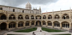 Lisbona (CarloAlessioCozzolino) Tags: people portugal lisboa persone monastery panoramica lisbona portogallo belm panoramicview unescoworldheritagesites monasterodosjernimos