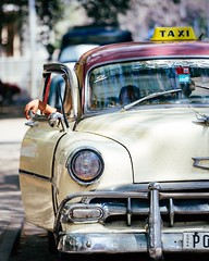 Siesta! (Simone Della Fornace) Tags: street old travel sleeping car photography outdoor sleep taxi sony havana cuba siesta vehicle a7rii