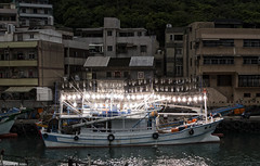 squid boat testing lights (allentimothy1947) Tags: boats lights taiwan places squidboats keelong