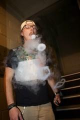 Vape (Mike Pasternak Productions) Tags: vape much canon glasses hipster smoke tanktops