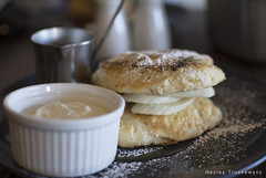 Pancakes at Eire (Hayley Trusk Photography) Tags: pancakes breakfast maple eire syrup marscapone