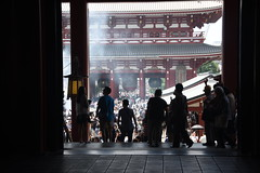 Sunday at temple (M. Georgiev) Tags: temple sensoji tokyo asakusa budda oldest taito budism