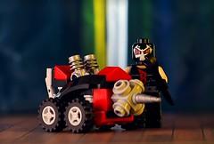 Fix it (Frost Bricks) Tags: bane drill machine lego