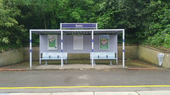 Battle Railway Station, East Sussex. UK. (ManOfYorkshire) Tags: battle east south eastern trains railway station architecture structure town metal shelter seats painted clean tourist uk william tress surveyor