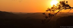 Sonnenuntergang,Teichstein , Elbsandsteingebirge (haase391) Tags: sonnenuntergang sonnenaufgang sonne landschaft teichstein elbsandsteingebirge