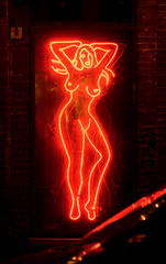All the Fame, All the Glory and Other Myths of the 21st Century (Thomas Hawk) Tags: sanfrancisco california usa night neon unitedstates fav50 unitedstatesofamerica lustylady fav10 fav25