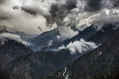 Himalayan Cuisine (TranceVelebit) Tags: park nepal storm mountains weather clouds trek national valley np himalaya khumbu everest himalayas cloudscape ridges tengboche sagarmatha solukhumbu kumjung