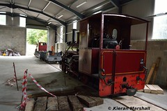 LM44 and Rusty, Stradbally, 5/7/16 (hurricanemk1c) Tags: ireland train railway trains railways narrowgauge stradbally 2016 steamloco lm44 industrialrailway andrewbarclay irishturfboard bórdnamóna stradballywoodlandsrailway clonsatworks