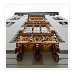 Erker / St. Gallen (Splitti68) Tags: europa europe schweiz stgallen erker architektur architecture archtectur quadrat square architekturdetail splitti splitti68 splittstser splittstoesser